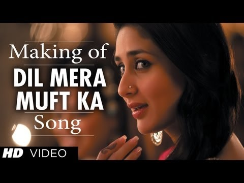 Dil Mera Muft Ka Song Making | Agent Vinod | Kareena Kapoor video