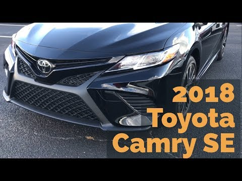 2018 Toyota Camry SE with Jonathan Sewell Sells in Enterprise, Alabama