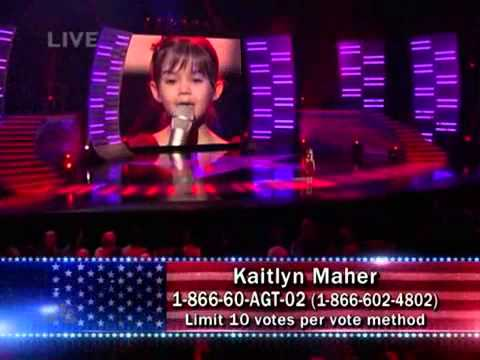 Kaitlyn Maher – I'll Be There (Mariah Carey) – America's Got Talent # 3