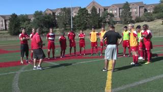 Dayton Men's Soccer 2014 Preseason