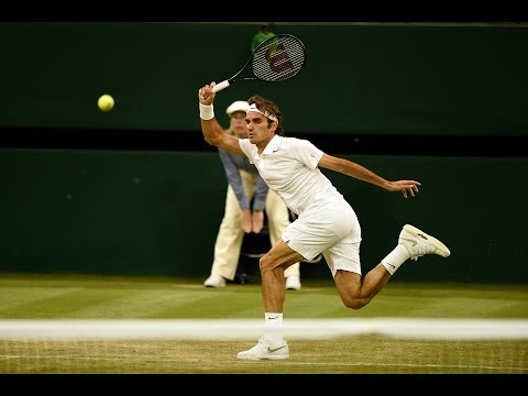 2014 Day 4 Highlights, Roger Federer vs Gilles Muller, Second Round