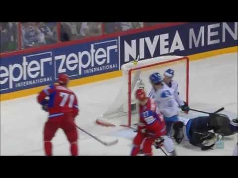 IIHF World Championship 2013 / Russia 2-3 Finland / 10-5-2013 HD