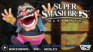 All Warioware Songs Super Smash Bros Ultimate Ost 11 Tracks