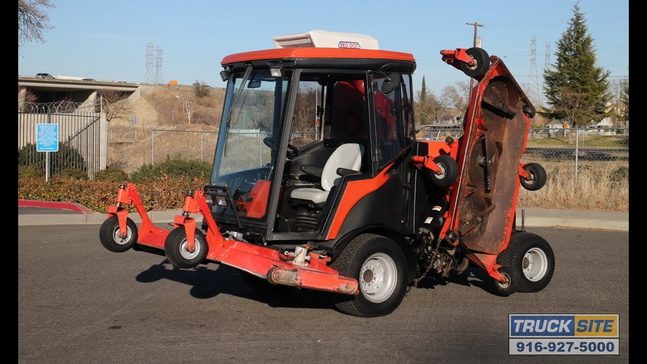 2005 Jacobsen Hr9016 Turbo Diesel 4wd Riding Lawn Mower