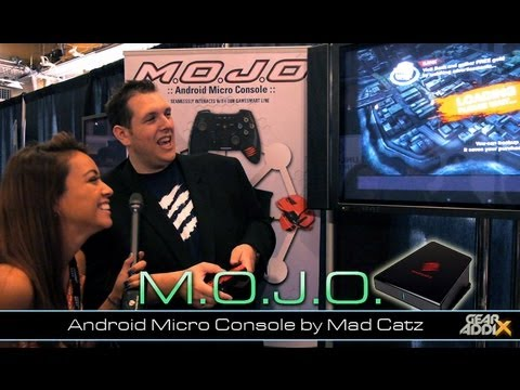M.O.J.O. Android Micro-Console by Mad Catz (CE Week)