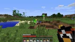 Minecraft - Mod Angry Birds: Foi peida EXPLODIU!