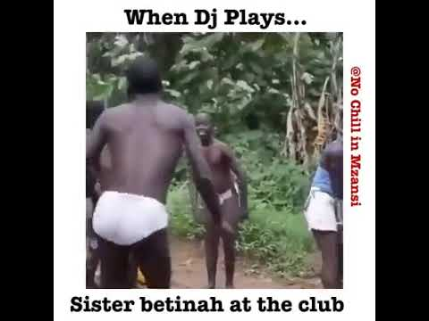 When sister betina plays