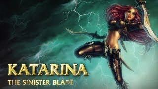 Katarina: Champion Spotlight   Gameplay - League of Legends
