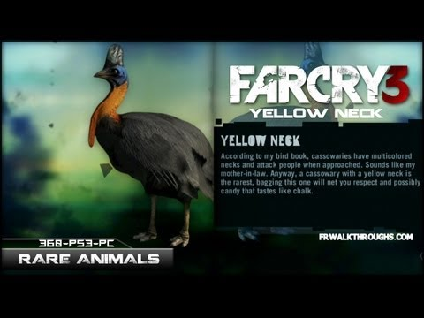 Far Cry 3 Hunting Rare Animals Yellow Neck