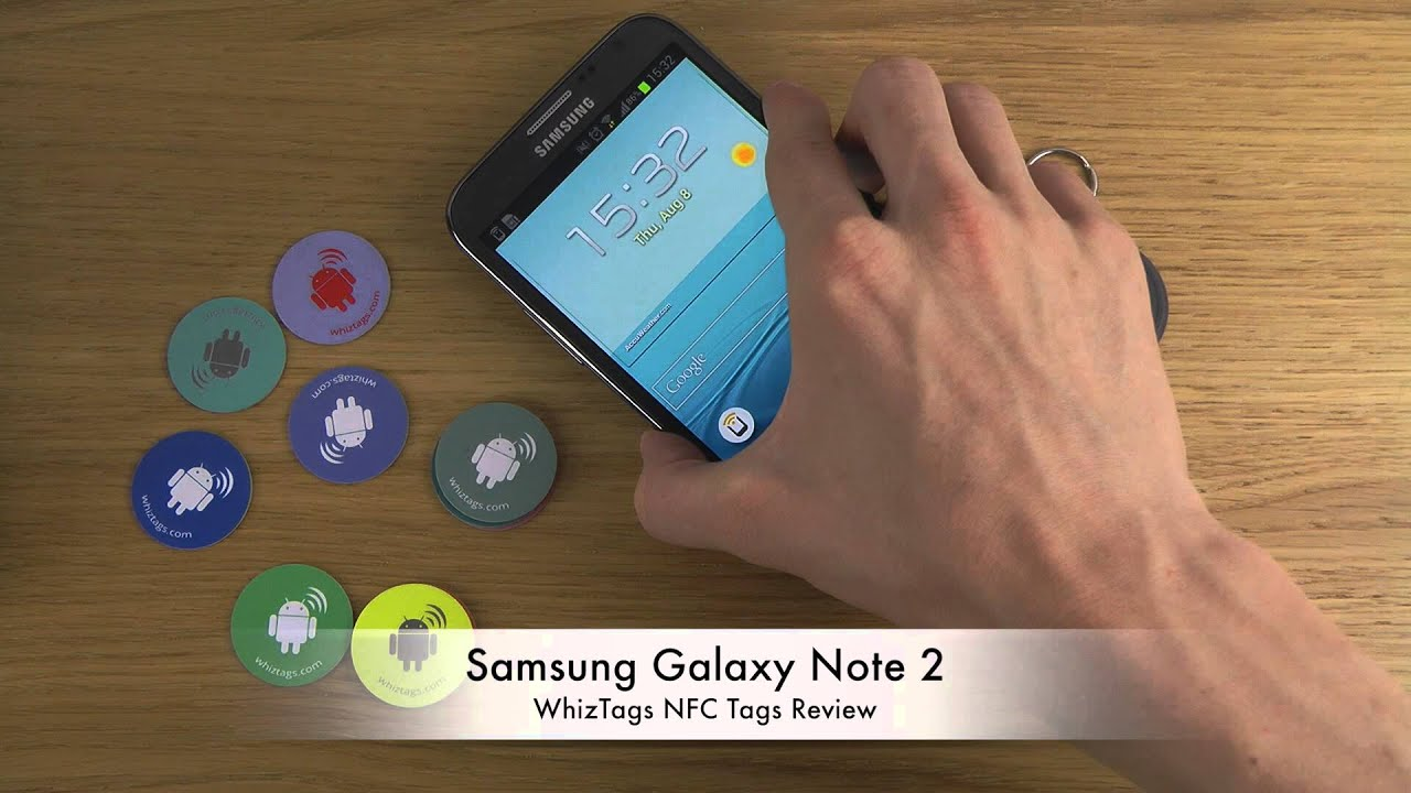 how to use nfc tags youtube