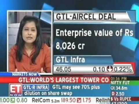 GTL Infrastructure completes Aircel tower buy