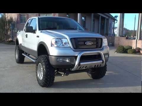 Sold 2005 Ford F 150 Fx4 4x4 Custom Lift For Sale Milan Tn See Www Sunsetmilan Com Youtube