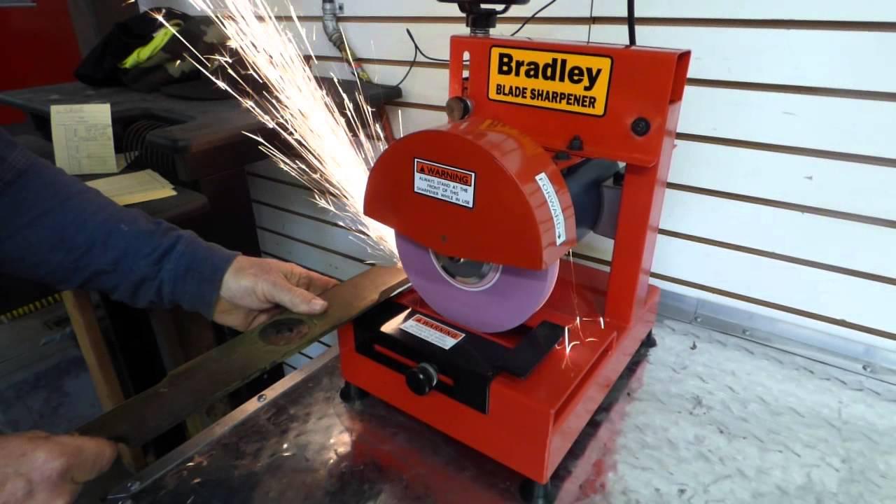 Bradley S81 Blade Sharpener For Lawn Mowers Sle Youtube