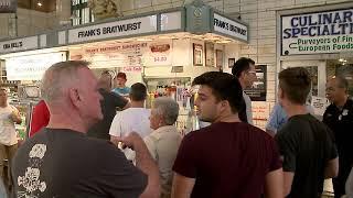 New Day Cleveland:  Franks Bratwurst - West Side Market  11-09-2017