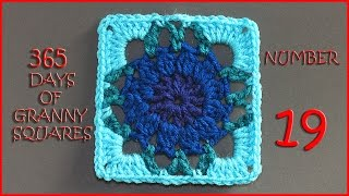 365 Days of Granny Squares Number 19