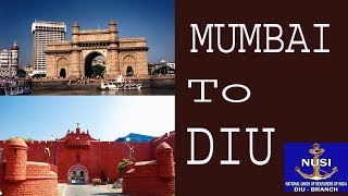How i reached Diu from mumbai