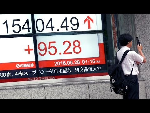 World Stocks Recover, British Pound Bounces off 31 Year low