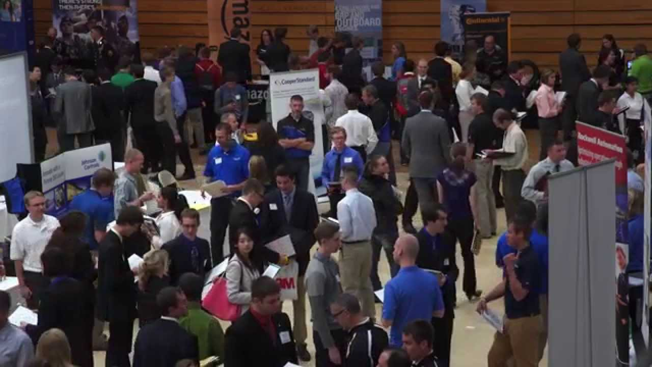 Preview image for The Career Fair Experience video