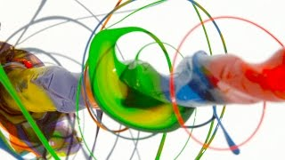 Paint Spinning Drill 4K - The Slow Mo Guys