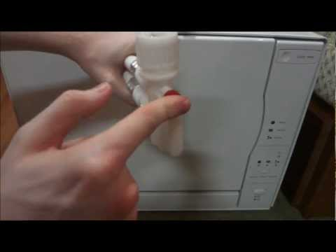 Countertop Dishwasher Hose Extension : Portable Dishwasher Repair- Replacing The Faucet Adapter (Whirlpool ...