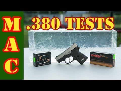 Testing the .380 for Self Defense