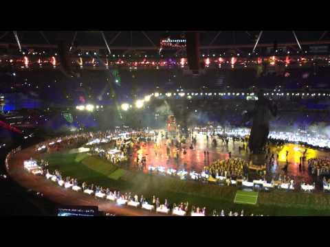 Mary Poppins in the Olympic Opening Ceremony 2012