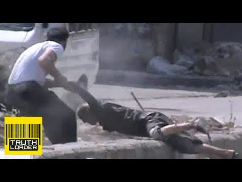 Dramatic rescue of elderly man under sniper fire in Syria - Truthloader