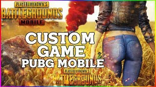 PUBG MOBILE INDIA LIVE | CUSTOM ROOM WITH SUBSCRIBERS