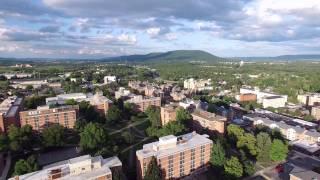 Aerial tour of Penn State - University Park