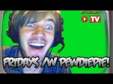 IM ON SWEDISH TELEVISION - FRIDAYS WITH PEWDIEPIE (Episode 9)