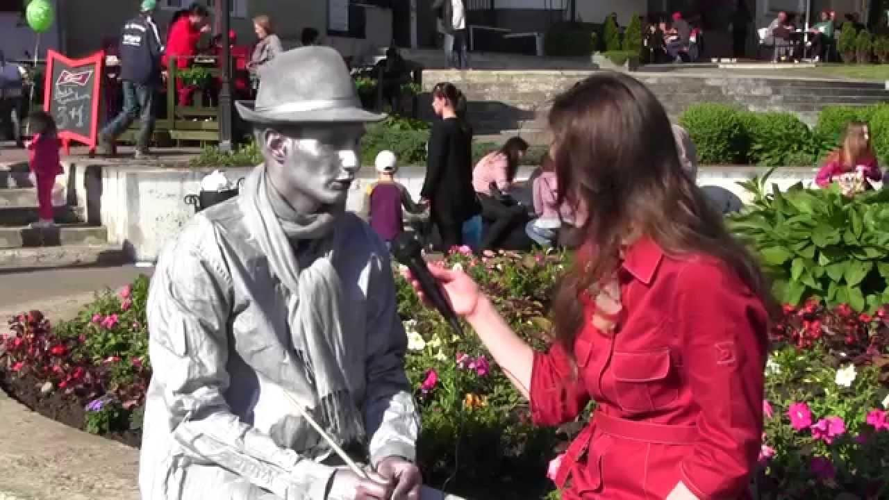 На День Калуша центр міста заполонив фестиваль живих скульптур
