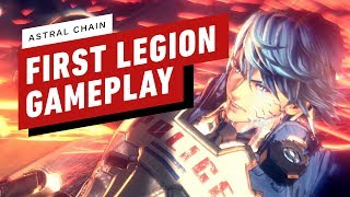 Astral Chain - The Very First Combat Encounter With A Legion