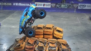 2015 Monster Truck Jam Gravedigger Highlights Bangor Maine