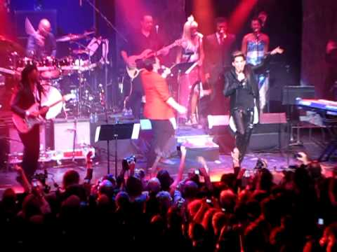 Shady Adam Lambert Nile Rodgers Sam Sparro We Are Family Foundation 1/31/13