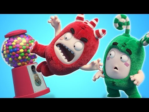 Oddbods | GUM BALL MACHINE | NEW FULL EPISODES | Funny Cartoons For Children | Oddbods & Friends