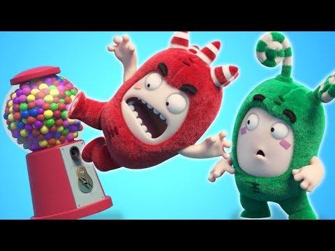 Oddbods | GUM BALL MACHINE | NEW FULL EPISODES | Funny Cartoons For Children