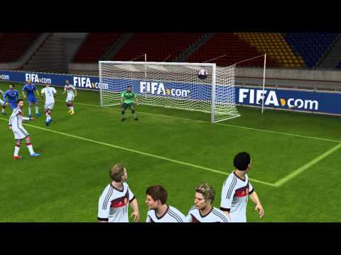 Dani Alves Free Kick