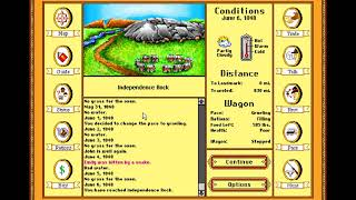 We all die....: The Oregon Trail