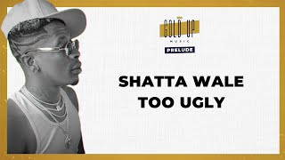 Shatta Wale & Gold Up - Too Ugly [Lyrics Video]