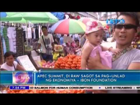 APEC Summit, not answer to economic development   Ibon Foundation
