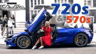 Ich fahre den McLaren 720S & 570S Spider   Road Trip!