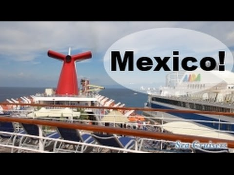 Arriving in Cozumel Mexico! Carnival Cruise Lines FUN SHIP Vlog episode 9