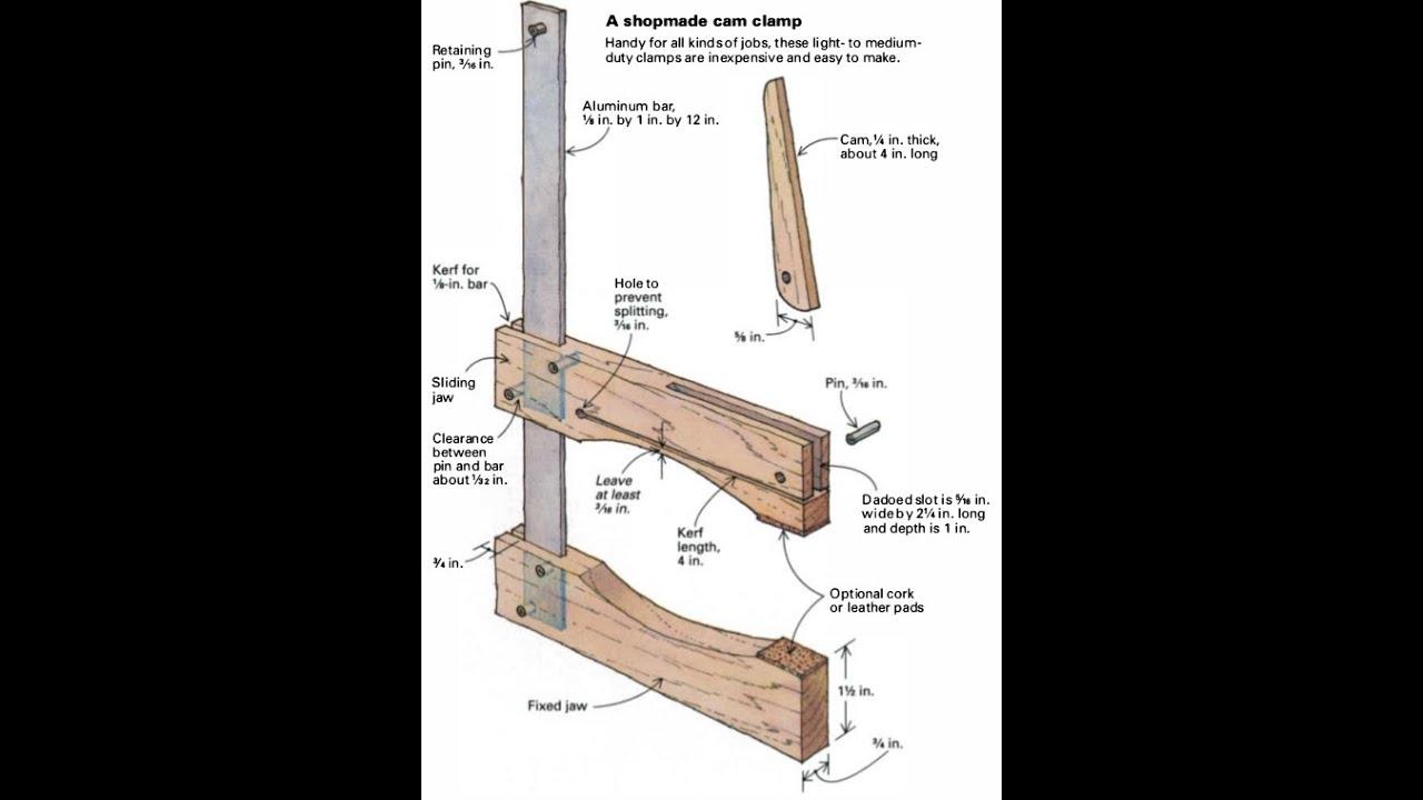 Как сделать тиски деревянные