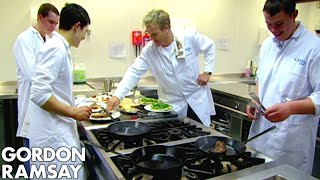 Chef Ramsay Teaches Amateur Butchers How to Cook A Perfect Steak - Gordon Ramsay