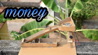How To Make Automatic Coin Sorting Machine from Cardboard