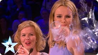 Double take! The Judges meet their lookalikes | Britain's Got More Talent 2014