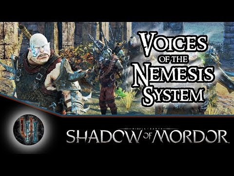 Middle-Earth: Shadow of Mordor - The Voices Behind the Nemesis System