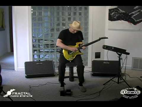 Adrian Belew Showcases His Fractal Audio Axe-Fx Ultra and Atomic Reactor FR Rig