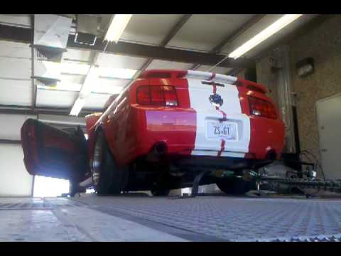 2005 Mustang GT Saleen Supercharger/Comp Cams dyno