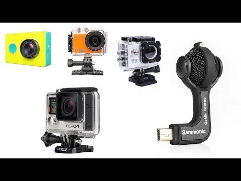 Лучший микрофон для вашей экшен камеры